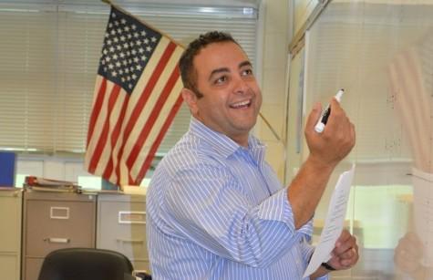 Mr. Sawyer: New Becton Math Teacher, Department Chairperson