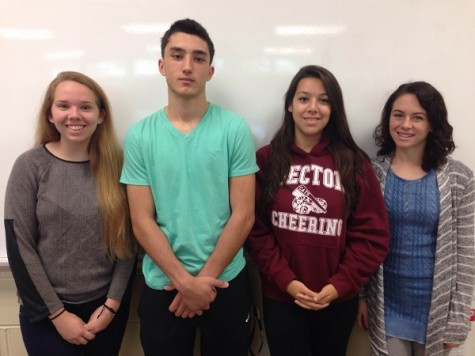 Ambitious Student Council made up of Kochinski, Penna, Horan and Banca
