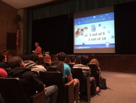 Cyber Safety Assembly Held At Becton