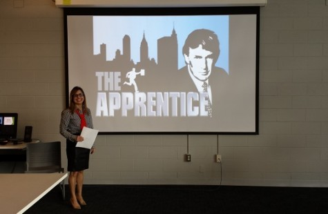 Web Page Design classes complete project in a fashion similar to 'The Apprentice'