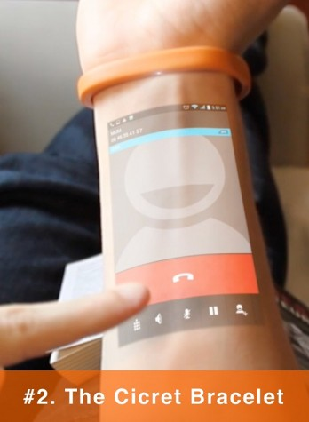 Newest tech prototype allows phone use on arms