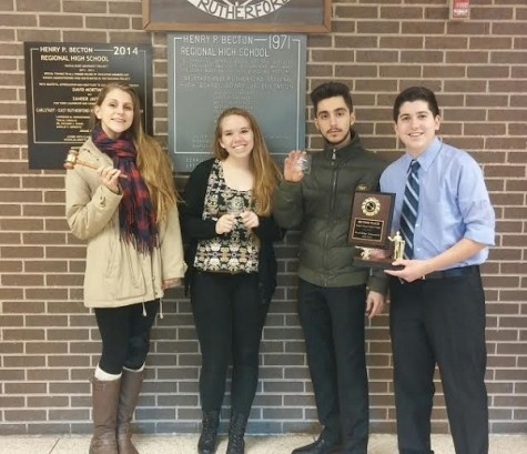 Varsity Debate students bring home numerous awards