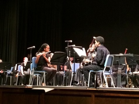 Musical talent from near and far debuts at Becton assembly