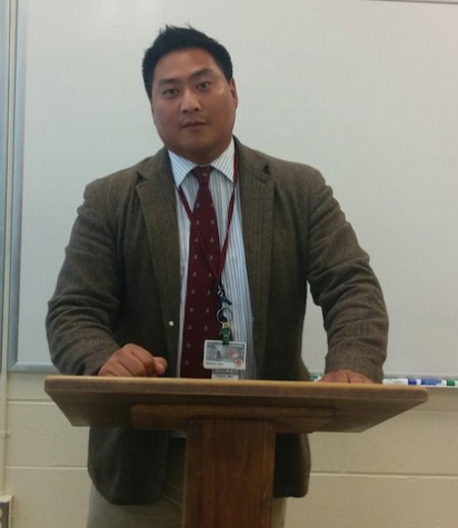 English Teacher Mr. Shin is debate coach for 2015-2016 season