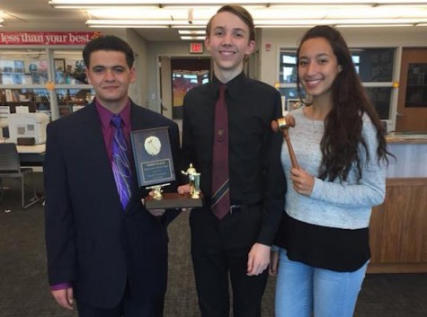 Becton's first debate tournament ends in success