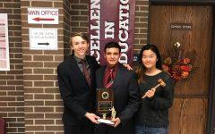 Seniors Strauss, Kandiel & Yoo earn debate awards