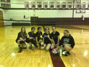 2017 Volleyball Tournament Champions