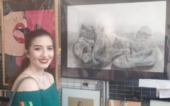 Senior art student, Beneduci, wins first place award at Teen Arts Festival