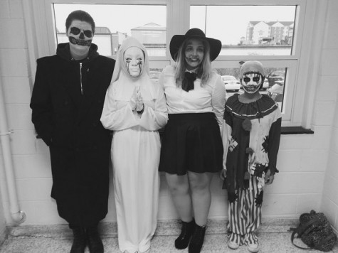 Scariest Costume: John Rotella, Leliah Spruill, Brittany Welsch, Kaity Cruz