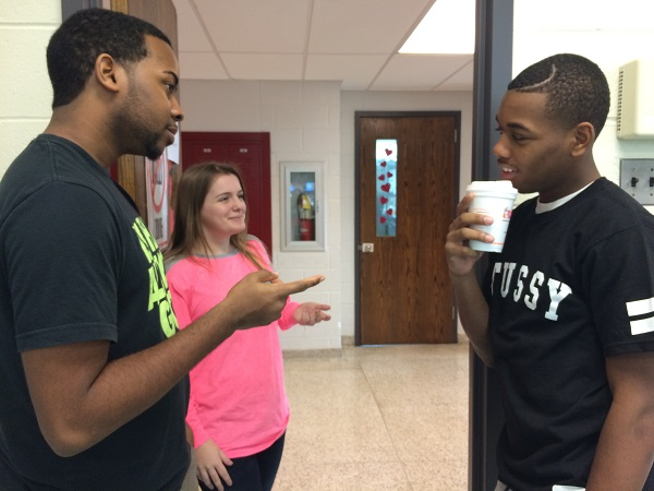 Senior Terrence Murrell prefers drinking coffee a few times a week.