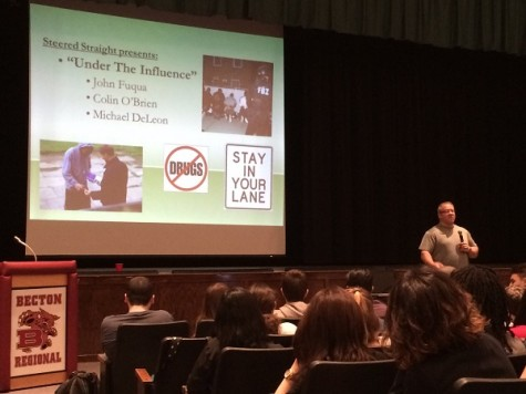 "Drug and alcohol awareness assembly encourages students to ""Stay in Your Lane"""