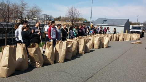 NHS helps keep Carlstadt clean