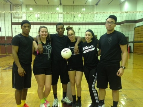 Shmoney Team dominates in volleyball