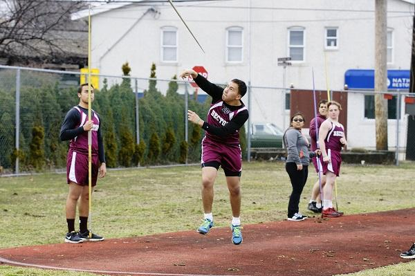 Boys' and girls' track teams spring into action