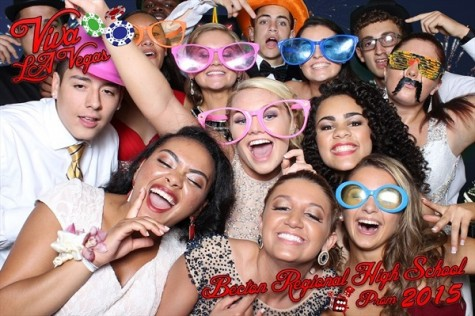 The photo booth was enjoyed by many.