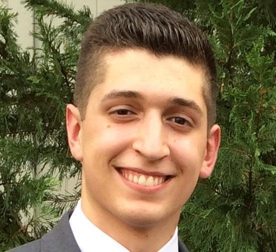 Tommaso Dato is the salutatorian of the graduating class.
