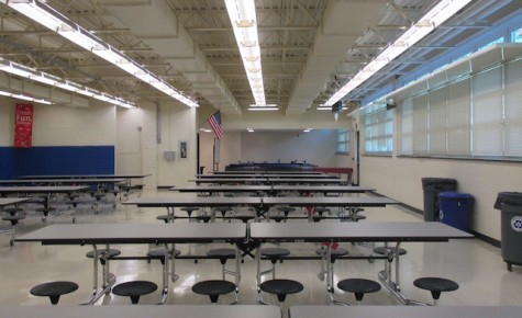 Principal Dr. Sforza implements changes to cafeteria, lunch periods