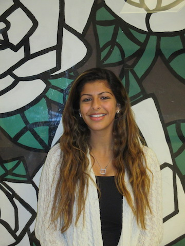 Nadia Gani is the October Student of the Month.