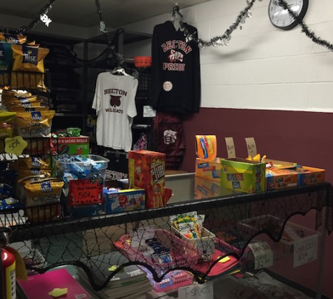 Becton school store helps provide scholarships, donations to many