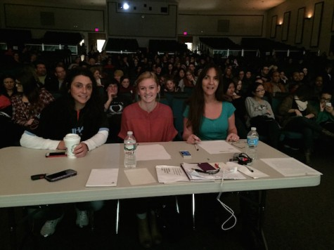 The judges panel for the show was made up of Ms. Giancaspro, Ms. Anderson and Ms. Mackanin.