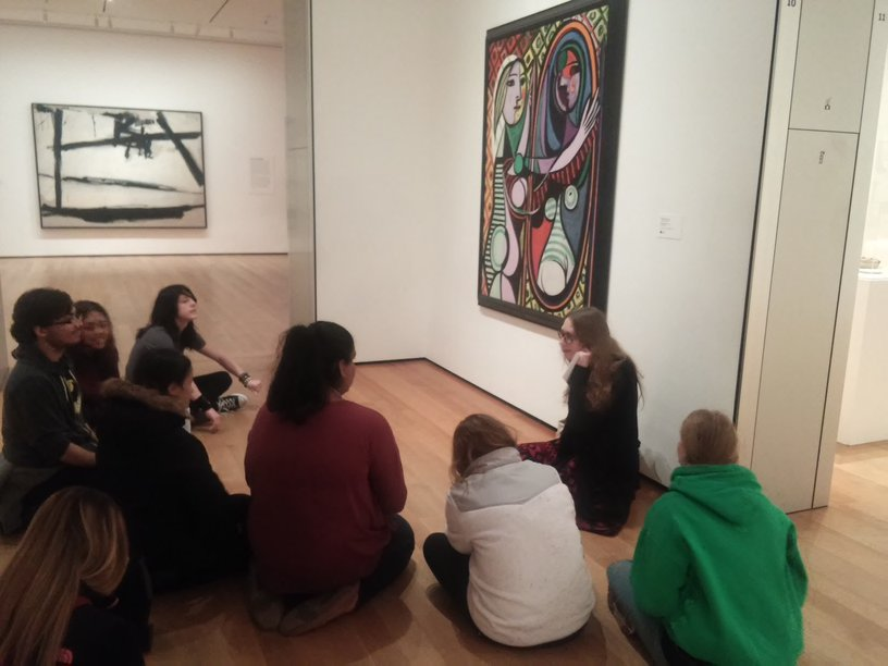 Art Classes Visit World Renowned Museum of Modern Art