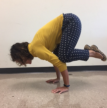 English Teacher Mrs. Gatto becomes certified yoga instructor