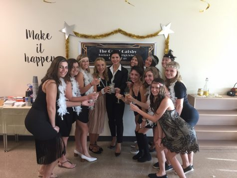 Mrs. Gatto makes learning fun with 'Gatsby Day'