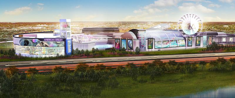 The+American+Dream+Mall+is+projected+to+open+in+2018.