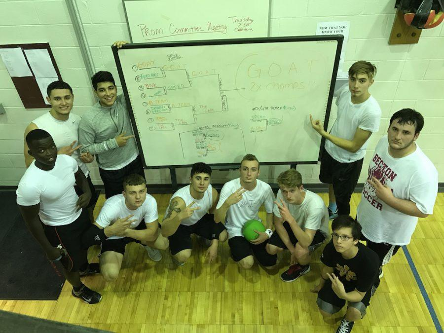 The second-time champion of the speedball tournament is G.O.A.T.