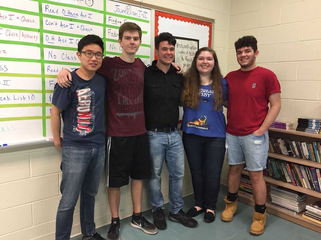 Juniors Austin Kim, Rafael Kuc, Charlie Flenner, Victoria Gramlich and Luke Maffia are just some of the Becton students who were selected to be alternates and delegates for Boys and Girls State.