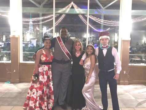 2017 Junior/Senior Prom Court