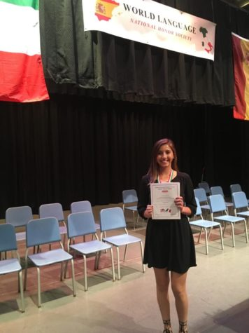 Seventeen students inducted into World Language Honor Society