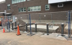 Supervisor Caputo and staff prep school for generator, update facility