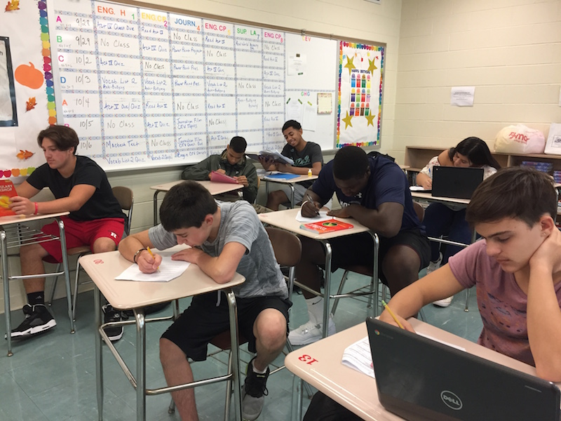 Becton Regional High School students will gain more classroom instruction time due to the elimination of midterm exams.
