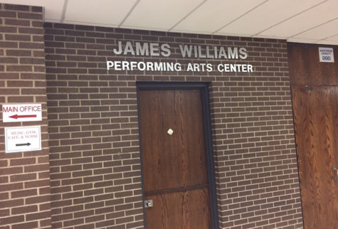 The unveiling of the James Williams Performing Arts Center took place on October 22.
