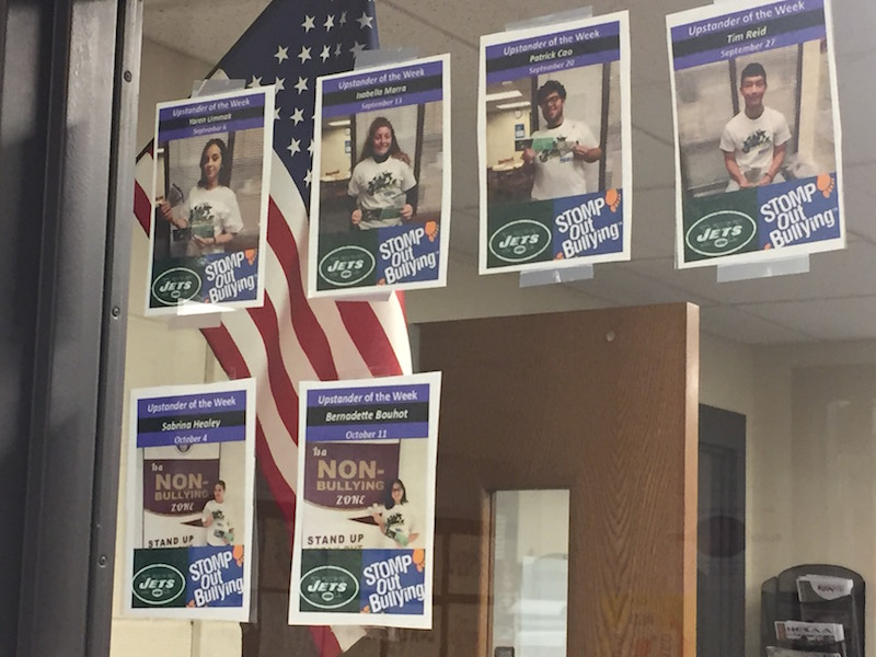Select Becton students highlighted as 'Jets Upstander of the Week'