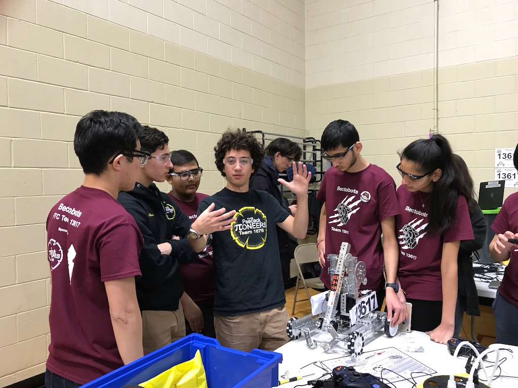 The Bectobots competed for the first time on December 16.