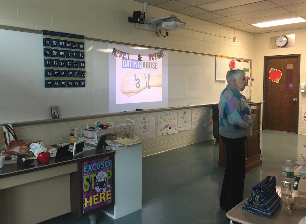 Ms. April Rivkin spoke to club members free of charge through the Prevention Through Education (PTE) program.