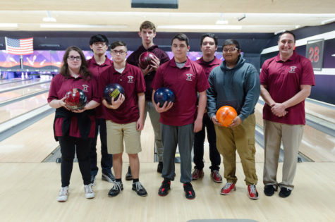 The Varsity Becton Bowling Team currently has a record of nine wins this season.