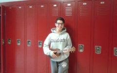 Junior Zuwatsky to play her ukulele at spring concert