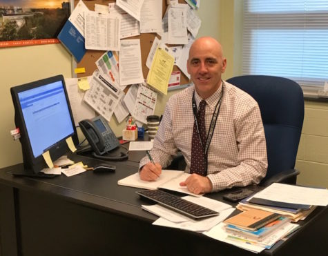 Mr. Caprio has been working in the guidance department for 15 years. He is now supervisor of the dept. along with testing coordinator.