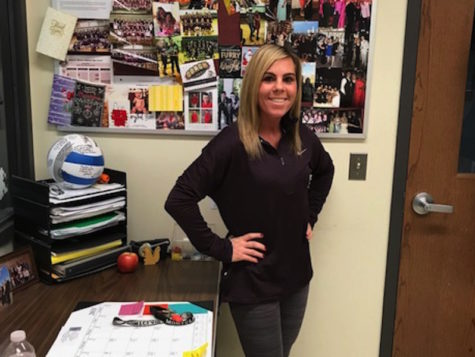 Ms. O'Driscoll has been working as a physical education instructor at Becton Regional High School for eight years.