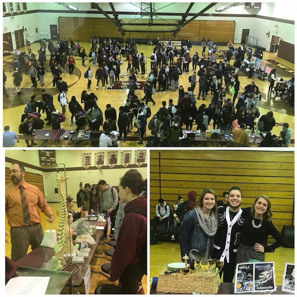 Becton's first Elective Fair took place at the conclusion of the school day on February 6, 2018.