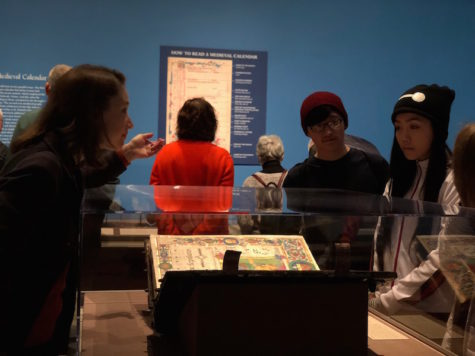 Becton students catch a glimpse of the past at NYC museum