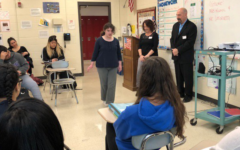 Ms. Dizon brings law to life for her students
