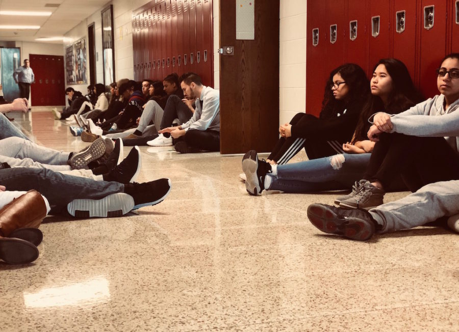 BRHS participates in national walkout to protest gun violence