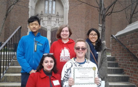 The debate team returned to Becton with multiple awards from Penn Model Congress.