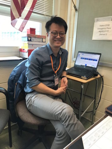 Mr. Kim makes smooth transition into Becton's math dept.