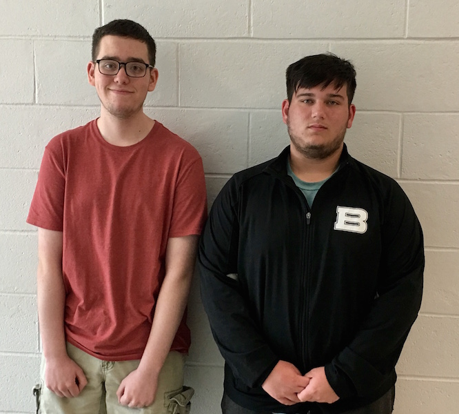 Juniors Wojna & Brizzolara to attend Boys State this June