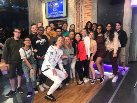 Journalism & Mass Media students see live taping of Good Morning America